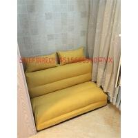 懒人沙发床榻榻米可折叠单人双人两用阳台卧室客厅小户型多功能椅 1.8*2.1米 三人位【乳胶款】