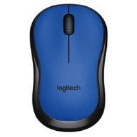 罗技(Logitech)M220 无线静音鼠标 蓝色 全新盒装行货