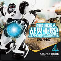 佳奇TT323+升级版智能语音对话 罗本艾特遥控机器人电动超大玩具