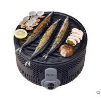 烧烤架美观三层无烟烧烤炉可调温度木炭烧烤炉户外装备家庭公园野餐