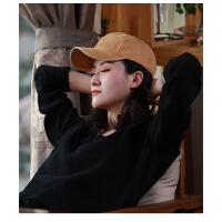 棒球帽女户外街头百搭鸭舌帽遮阳防晒韩版时尚潮做旧嘻哈帽子