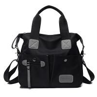 包包女防水尼龙布手提包女欧美时尚牛津布单肩斜挎包大容量旅行包