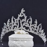 韩式拍照生日王冠 女王珍珠新娘结婚皇冠头饰发饰婚纱礼服配饰品 皇冠195 均码