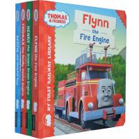 托马斯和朋友 Thomas and Friends英文原版 绘本全套 9本儿童纸板书 图画故事
