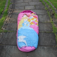 户外 儿童睡袋 卡通 防踢被 小学生 小孩 大童 爸爸去哪儿新品