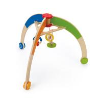 Hape婴儿健身架0岁以上儿童玩具益智早教创意床铃婴幼玩具智体发展E0032