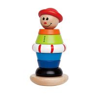 【限时购】Hape男孩堆塔1-2岁儿童婴幼玩具益智木制玩具E0401