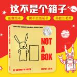 顺丰发货 Not a Box 不止是个盒子 纸板书 吴敏兰推荐绘本123 第36本 美国TOP百本必读绘本书籍 苏斯奖