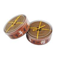 檀香盘香天然熏香佛香驱蚊驱虫驱除异味剂艾草盘香熏香驱蚊 2盒用240小时