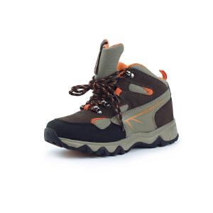 探路者童鞋 男童户外运动中帮登山童鞋