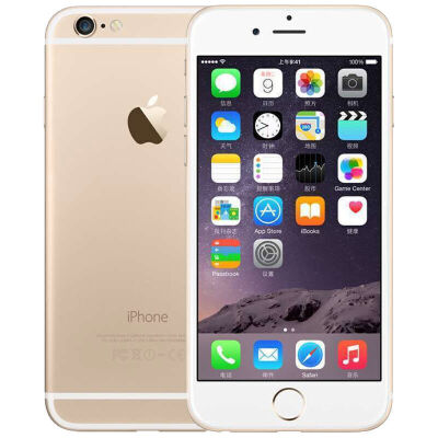 Apple iPhone6 金色 32GB内存 全网通4G手机赠:钢化膜 保护壳 指环扣!全国联保!