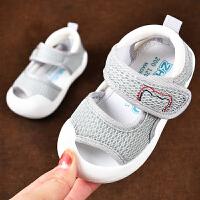 宝宝凉鞋男学步鞋夏软底防滑0一1-3岁婴儿女宝宝鞋子