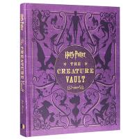 哈利波特 神奇生物宝库图鉴解密宝典 英文原版 Harry Potter The Creature Vault 哈利波特电