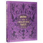 哈利波特 解密宝典 英文原版书 Harry Potter The Creature Vault 哈利波特神奇生物宝库图