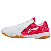 李宁 乒乓球鞋女款 国家队训练款运动鞋专业级透气防滑