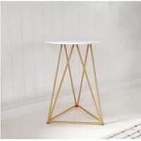 北欧金色餐椅休闲椅师梳妆台椅化妆凳弧形网红ins靠背椅子 大理石