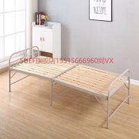旗舰店折叠床陪护床办公室午睡床环保木床一米单人床钢板床钢丝床午休床