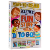 有趣的科学6本 英文原版 Ready to Read Science of Fun Stuff to Go! 分级读物