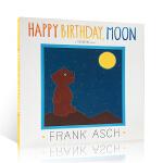 顺丰发货 Happy Birthday Moon 月亮,生日快乐 Frank Asch 法兰克・艾许 儿童英文绘本