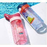 儿童水杯吸管水杯幼儿园小学生带吸管水杯女水壶夏天直饮杯子