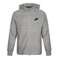 Nike耐克2018年男子AS M NSW AV15 HOODIE FZ KNIT夹克943326-072