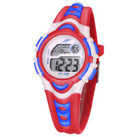 儿童手表女孩防水夜光中小学生手表女运动电子表数字式女童手表