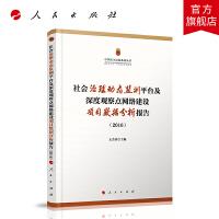 社会治理动态监测平台及深度观察点网络建设项目数据分析报告(2016)(中国民生民政系列丛书)
