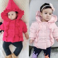 婴幼儿3个月秋冬季保暖外套男童女童宝宝冬款上衣韩版衣服1岁棉衣