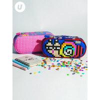 upixel顽意小学生文具盒笔盒儿童创意礼物拼图多功能铅笔袋大容量