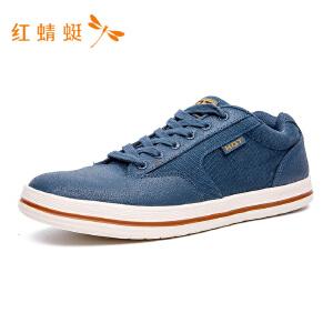 红蜻蜓新款休闲男单鞋