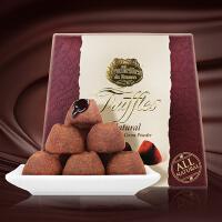 乔慕Truffles 进口松露巧克力1kg 加拿大进口代可可脂巧克力礼盒 大自然原味松露礼盒礼物休闲零食礼物