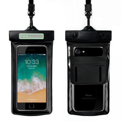 手机防水袋潜水手机套触屏游泳防水温泉外卖挂脖华为oppo苹果小米