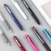 日本ZEBRA斑马J3J2三色按动中性笔学生用做笔记手红蓝黑色第三合一多色多功能彩色水笔0.5mm办公签字笔批发