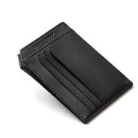 卡包男士迷你小钱包驾驶证皮套公交银行卡套证件卡夹卡片包潮