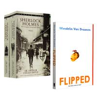 正版 福��摩斯探案全集 英文版原版小�f Sherlock Holmes 怦然心�佑⑽陌� flipped 英文原版�影原著