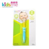 亲亲我 婴儿乳牙刷 宝宝小熊型训练牙刷 儿童口腔护理130043