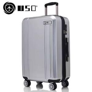 【全国包邮支持礼品卡支付】28寸 USO品牌新款U811 旅行箱 行李箱 拉杆箱 耐压抗摔ABS+PC材质 静音万向轮