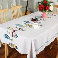 桌布防水防烫防油免洗餐桌布长方形茶几桌布欧式桌布PVC台布家用
