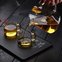 高硼硅玻璃鹰嘴茶海公道茶杯260ML耐高温创意玻璃茶壶耐热高温玻