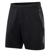运动短裤男跑步健身训练透气夏季夜跑男士5分裤速干宽松篮球短裤 S7002-1短裤