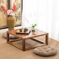榻榻米茶几老榆木简约实木飘窗桌炕桌炕几地台矮桌小桌子窗台桌 整装