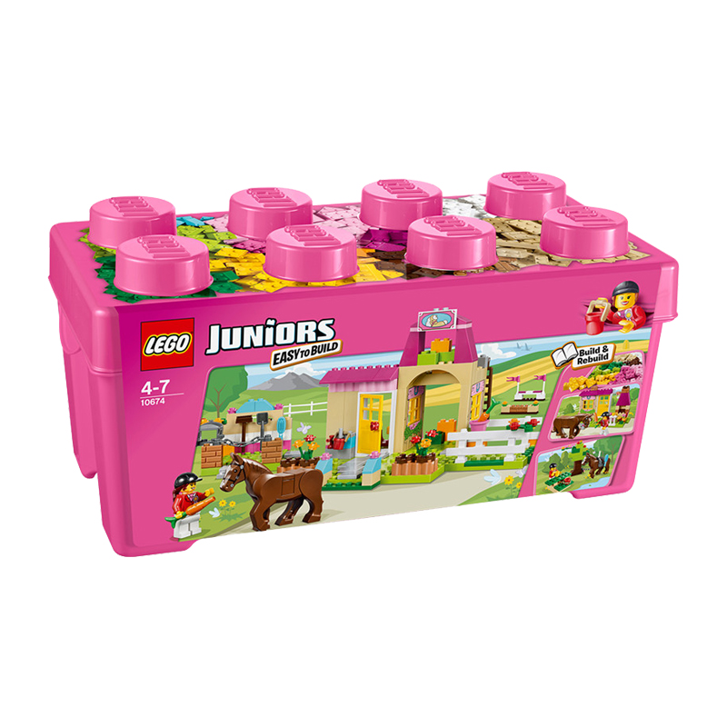 美国直邮 LEGO乐高 小拼砌师系列 小马农场 积木拼插儿童益智玩具306PCS 10674 海外购 积木拼插儿童益智玩具