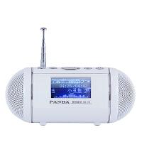 熊猫/PANDA DS-170 迷你插卡小音箱低音炮老年人收音机便携随身听 白色