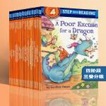 英文原版分级读物 兰登 Step into Reading 4阶段科学历史阅读 25册合售 国外经典