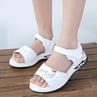 2020新款女童凉鞋韩版公主鞋夏季学生儿童鞋防滑软底中大童沙滩鞋