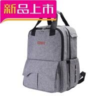 奶爸包妈咪包双肩多功能大容量妈妈包母婴包外出待产背包