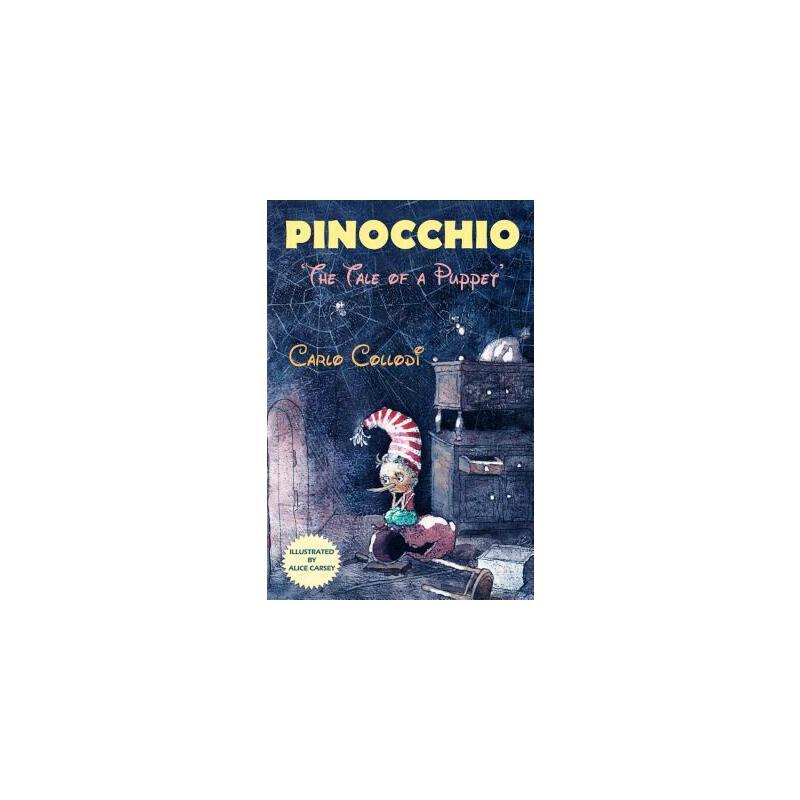 """【预订】Pinocchio: """"The Tale of a Puppet"""" 预订商品,需要1-3个月发货,非质量问题不接受退换货。"""