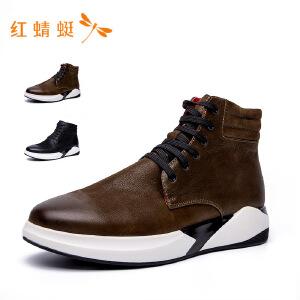 红蜻蜓2018潮流时尚休闲男鞋