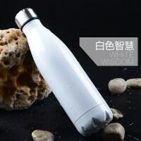 海蝶可乐瓶不锈钢保温杯学生水杯子男女运动时尚水壶定制定做logo