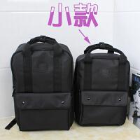 双肩包男士商务背包女韩版原宿风时尚大学生15.6寸电脑包书包潮牌